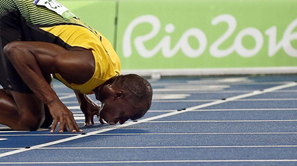 La gesta histórica de Usain Bolt, en imágenes