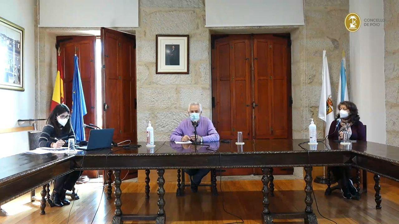 Raimundo González Carballo, concejal de Facenda del Concello de Pontevedra