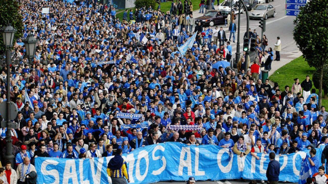 Manifestación del oviedismo en 2003