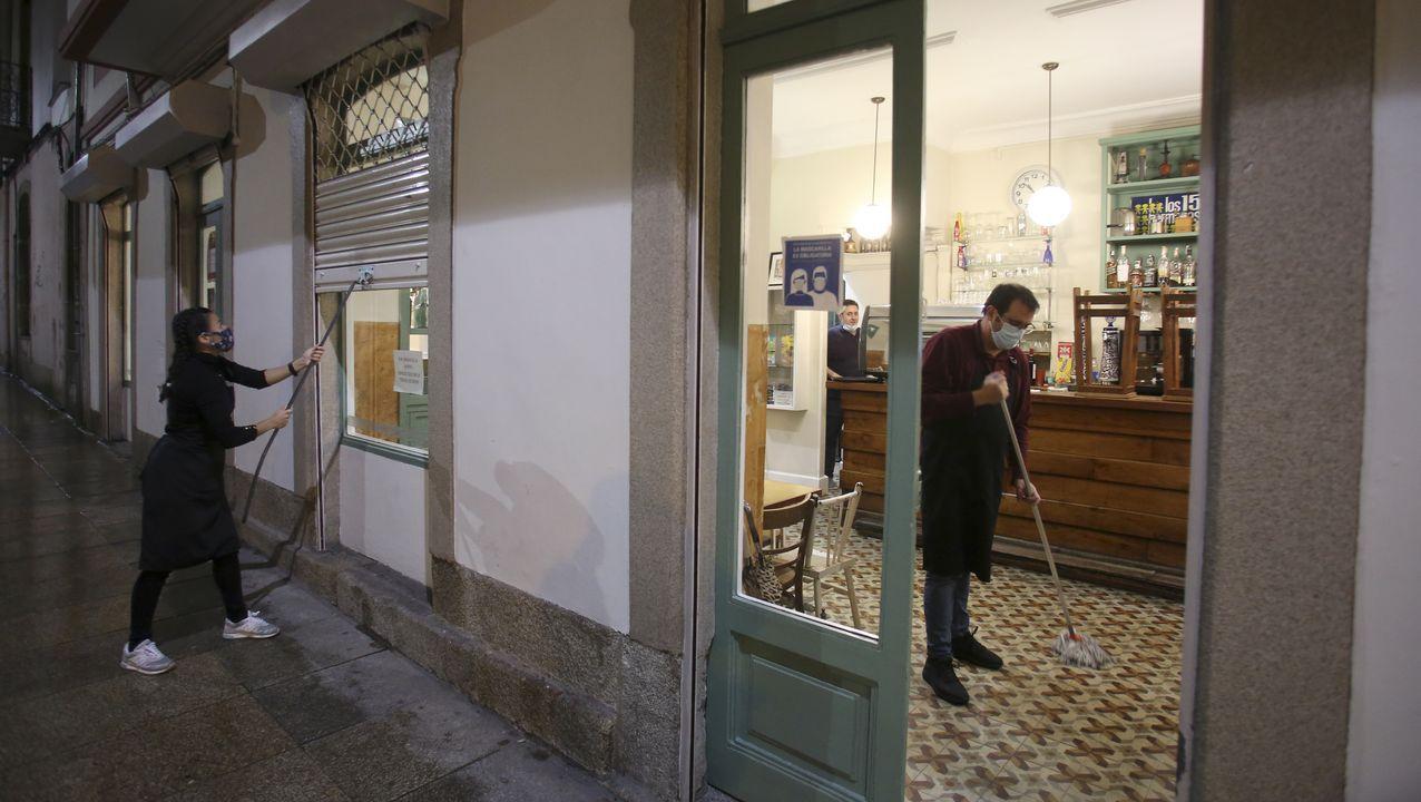 Cierre de negocios en Ferrol