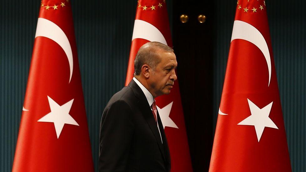 Multitudinaria manifestación de turcos en Alemania en defensa de Erdogan