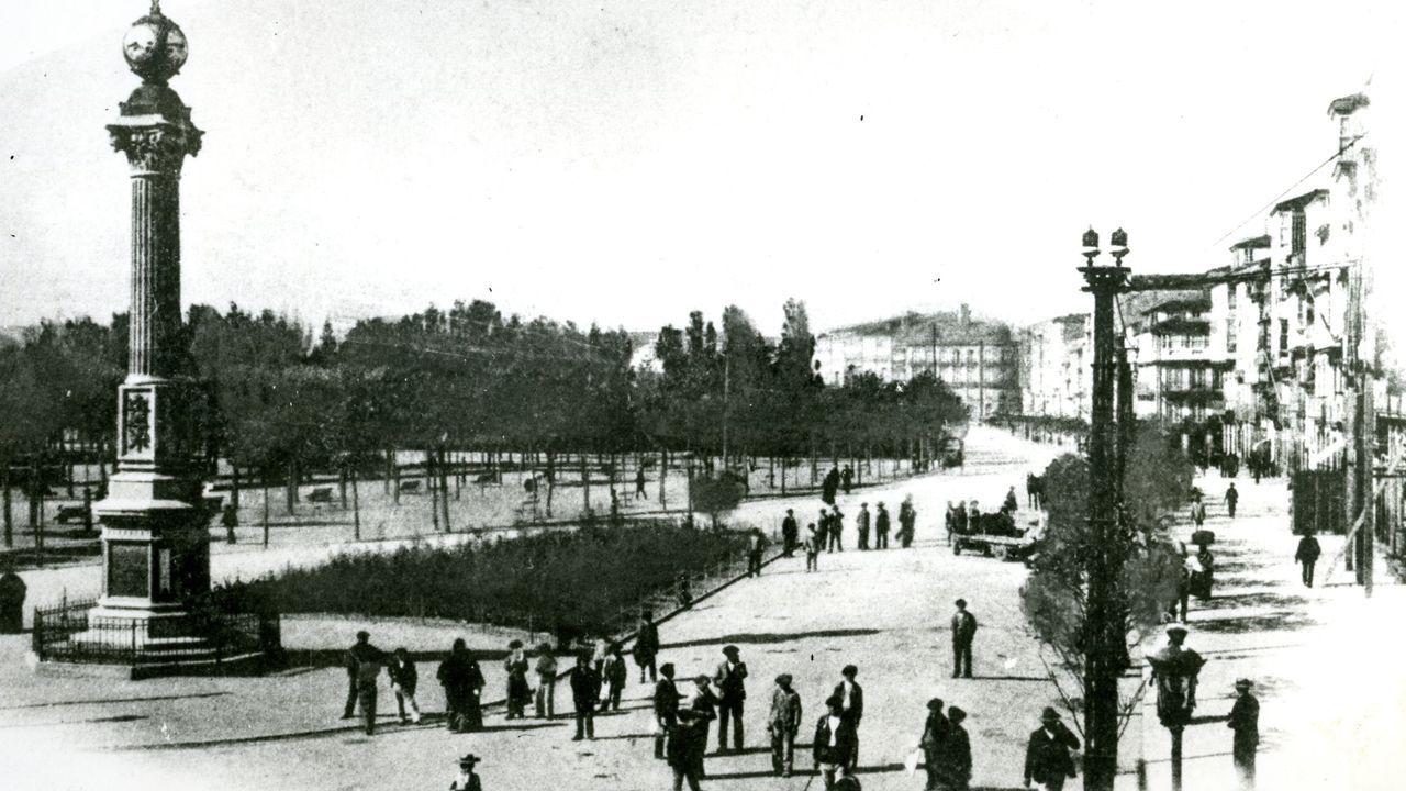 El Obelisco, en 1922