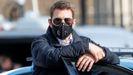 Tom Cruise, durante el rodaje de Misión imposible 7