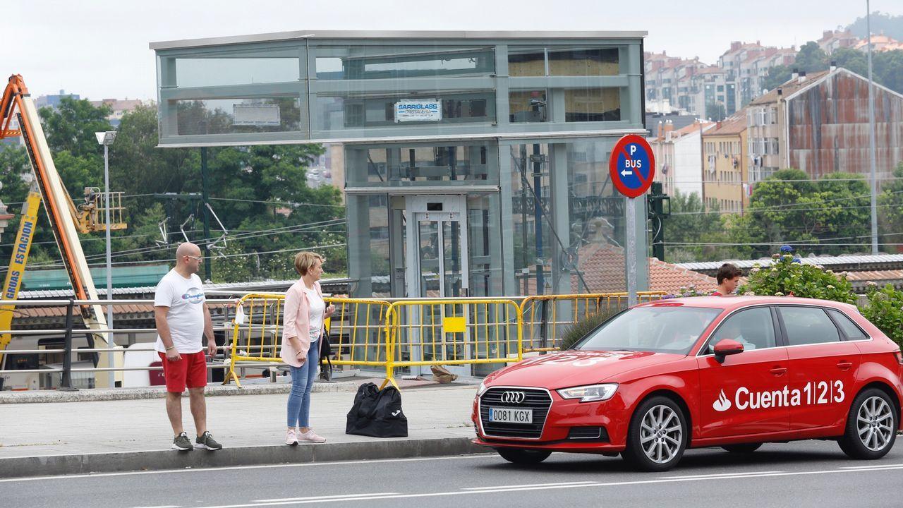 Arranca la construcción de la nueva estación de autobuses en el área ferroviaria.En la imagen se observan los avances de la infraestructura que tiene que estar terminada en un año
