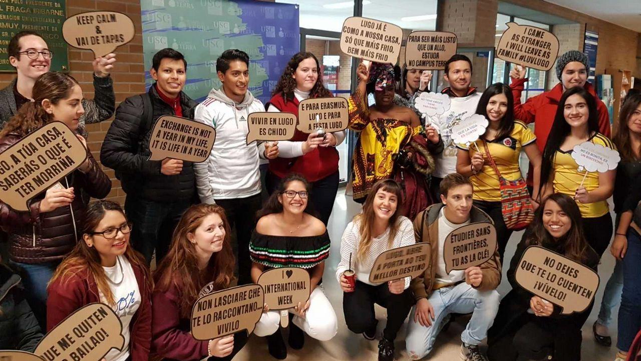 Los alumnos extranjeros de la USC, los mejores embajadores de sus países.Teodoro Obiang, en una imagen de archivo