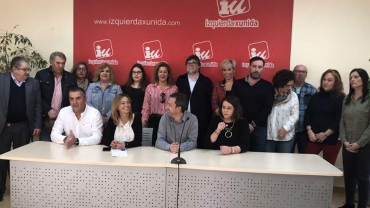 Candidatura de Ángela Vallina a las primarias de IU