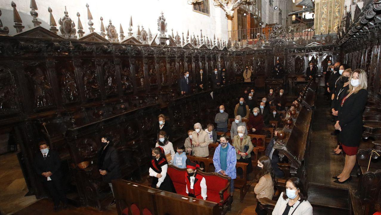 La catedral acogió la tradicional misa en honor a San Froilán