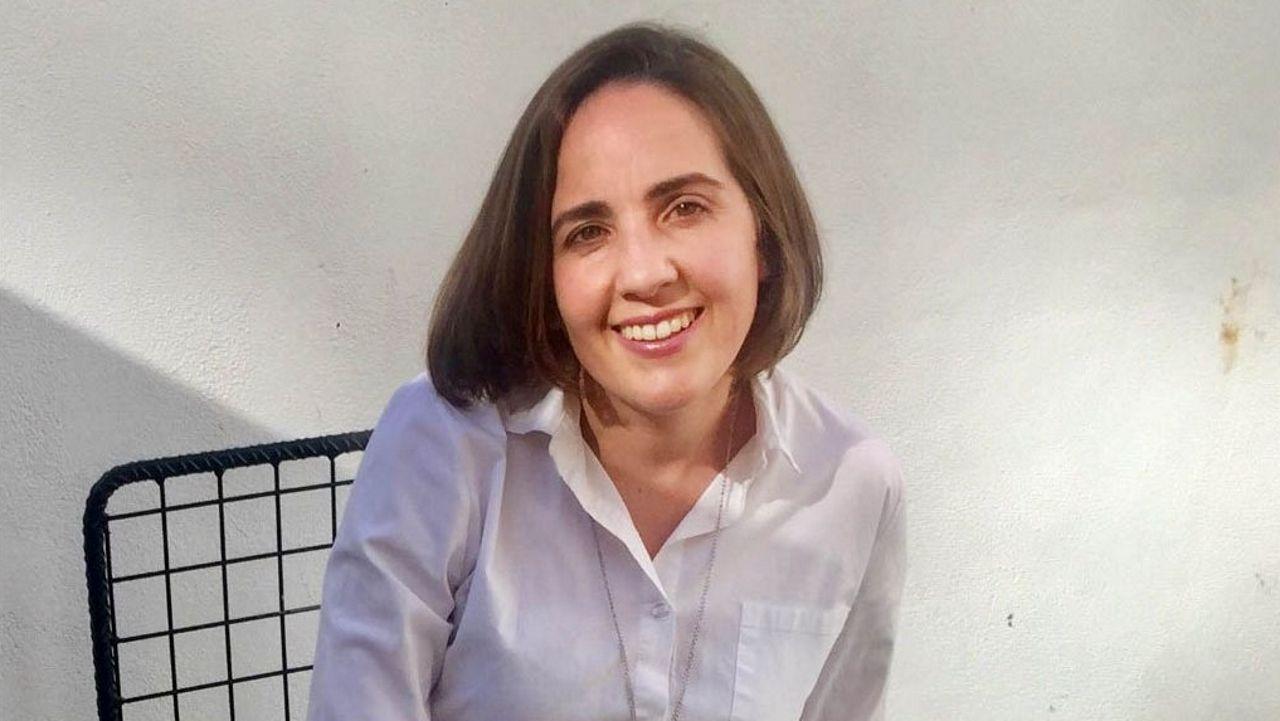 María Hermida, xornalista de La Voz de Galicia