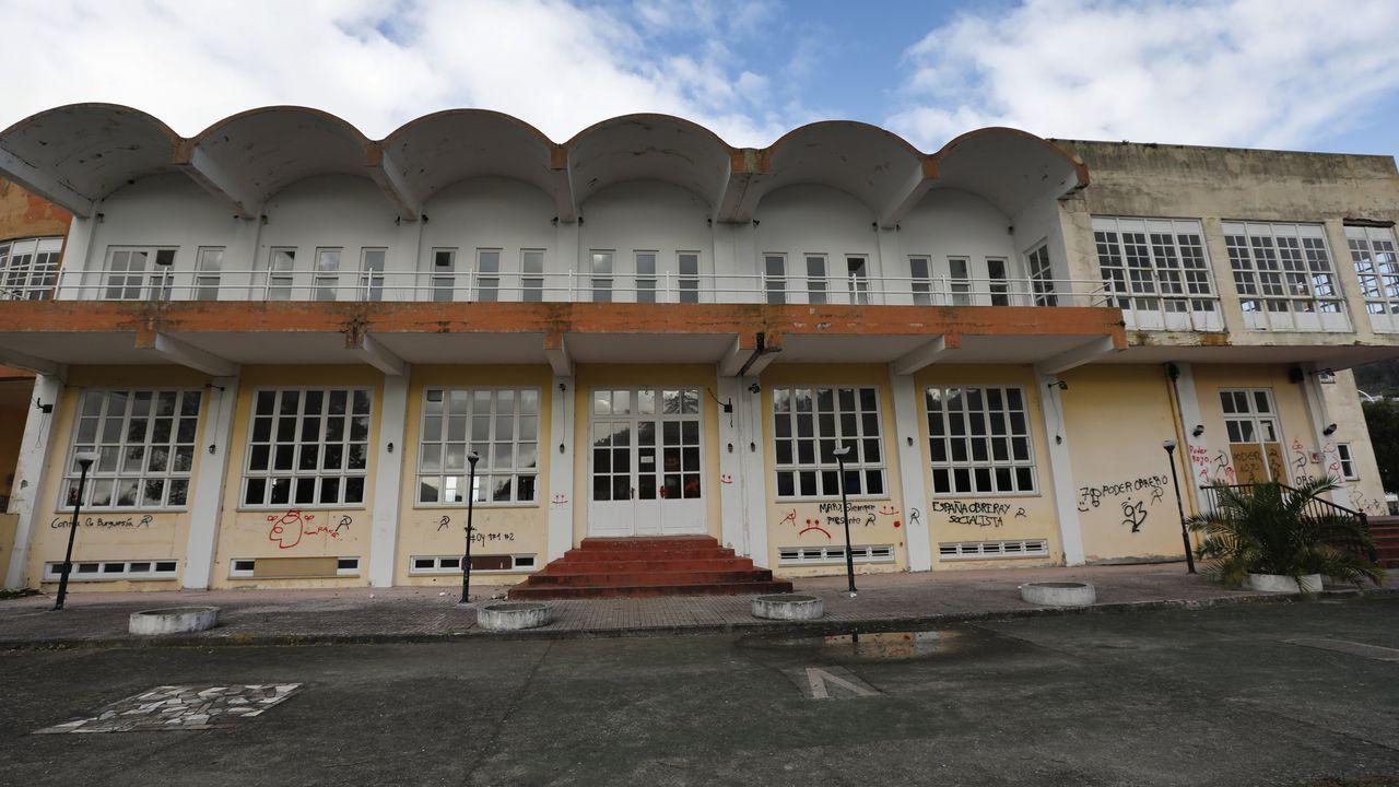 En la imagen, una de las aulas de simulación de la Escuela Náutico-Pesquera de Ferrol