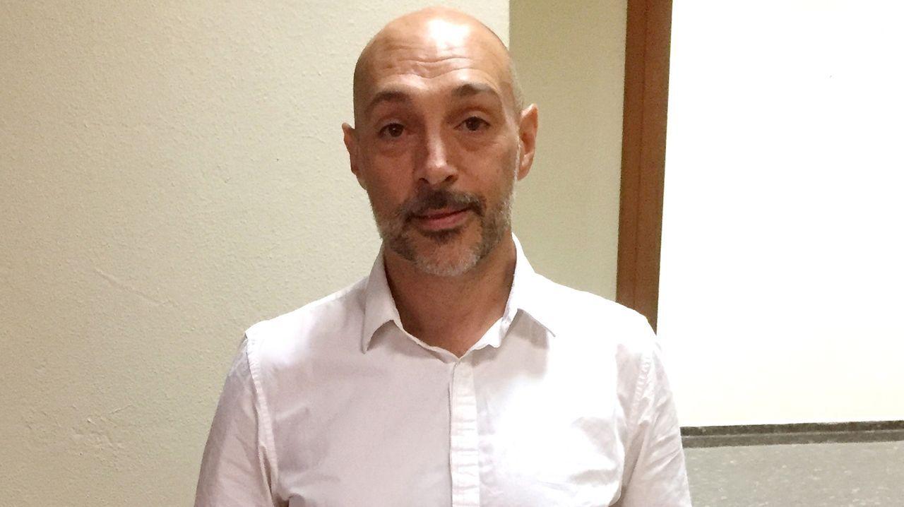 BBVA.El concejal del PP, José Antonio Constenla