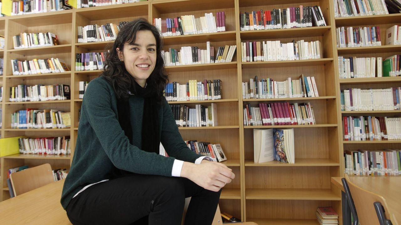 Vuelve la actividad a la «raia».Rosalía Fernández Rial