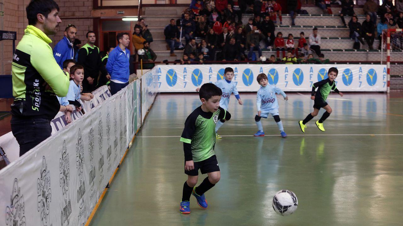 Las imágenes del torneo AF7 Indoor en Ribadumia