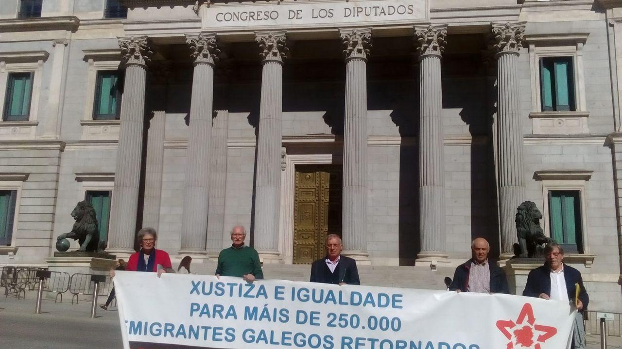 Escrutinio del voto emigrante en el 2005 en A Coruña