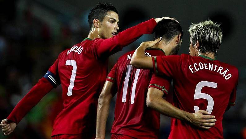 Aranzubía confía en las posibilidades del Dépor en el Bernabéu.Cristiano, Nélson Oliveira y Coentrão, con Portugal