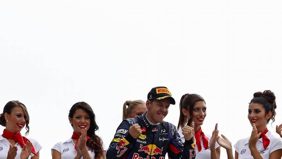 El Gran Premio de Monza, en imágenes