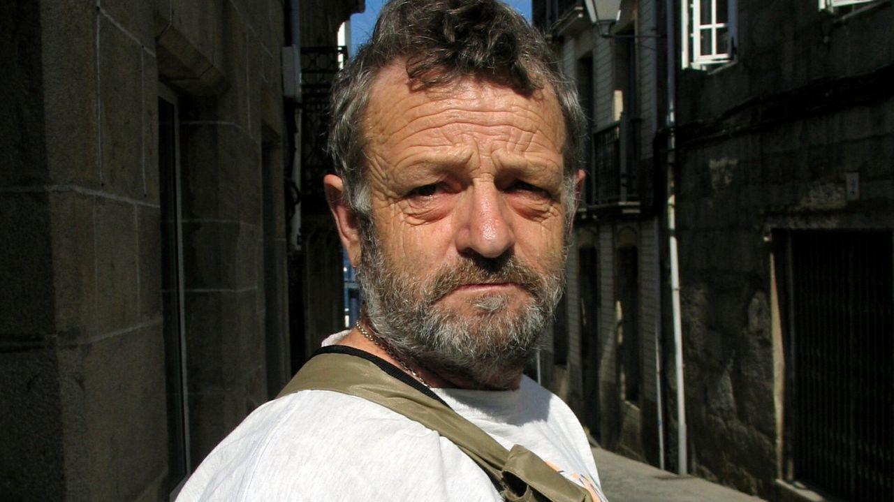 Xilberte Figueira, en una foto de archivo de su época como presidente de la asociación de vecinos de Leiro