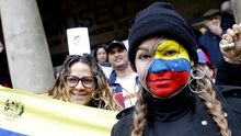 Celebraciones de venezolanos en Galicia