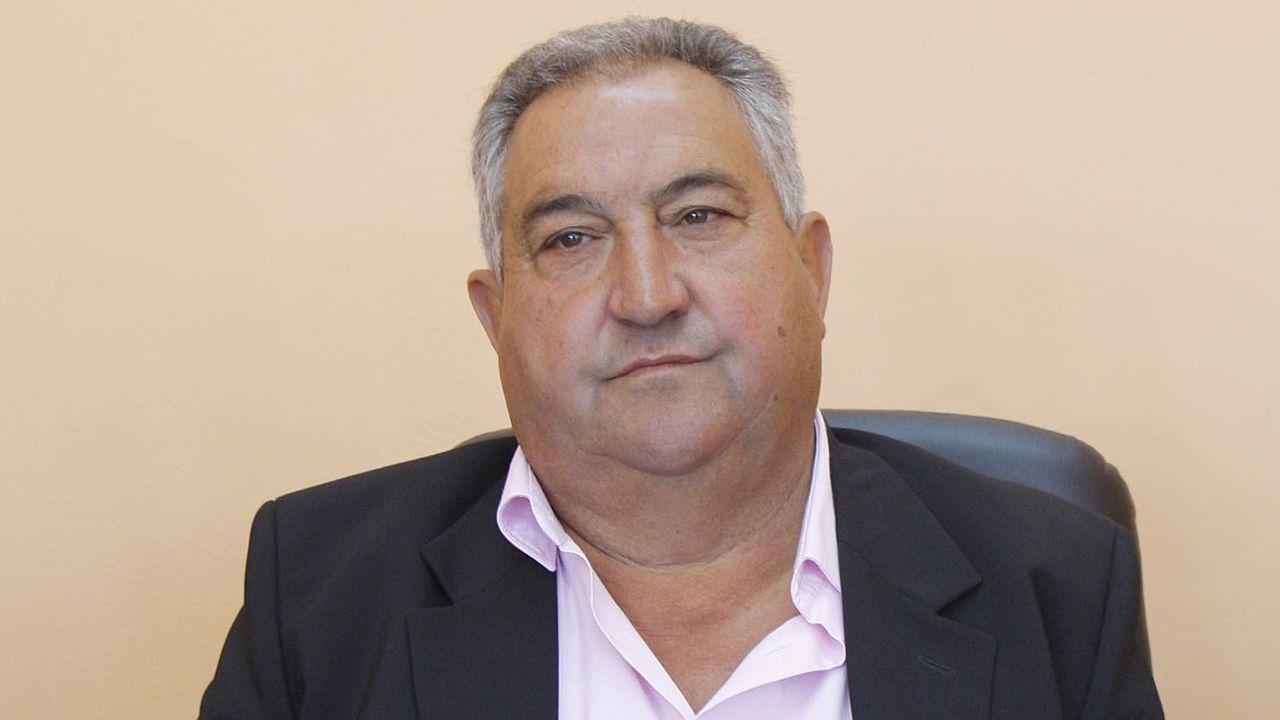 José Manuel Fernández, alcalde de Paderne de Allariz