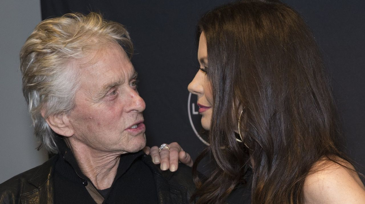 Michelle Williams.Michael Douglas, junto a su mujer Catherine Zeta-Jones