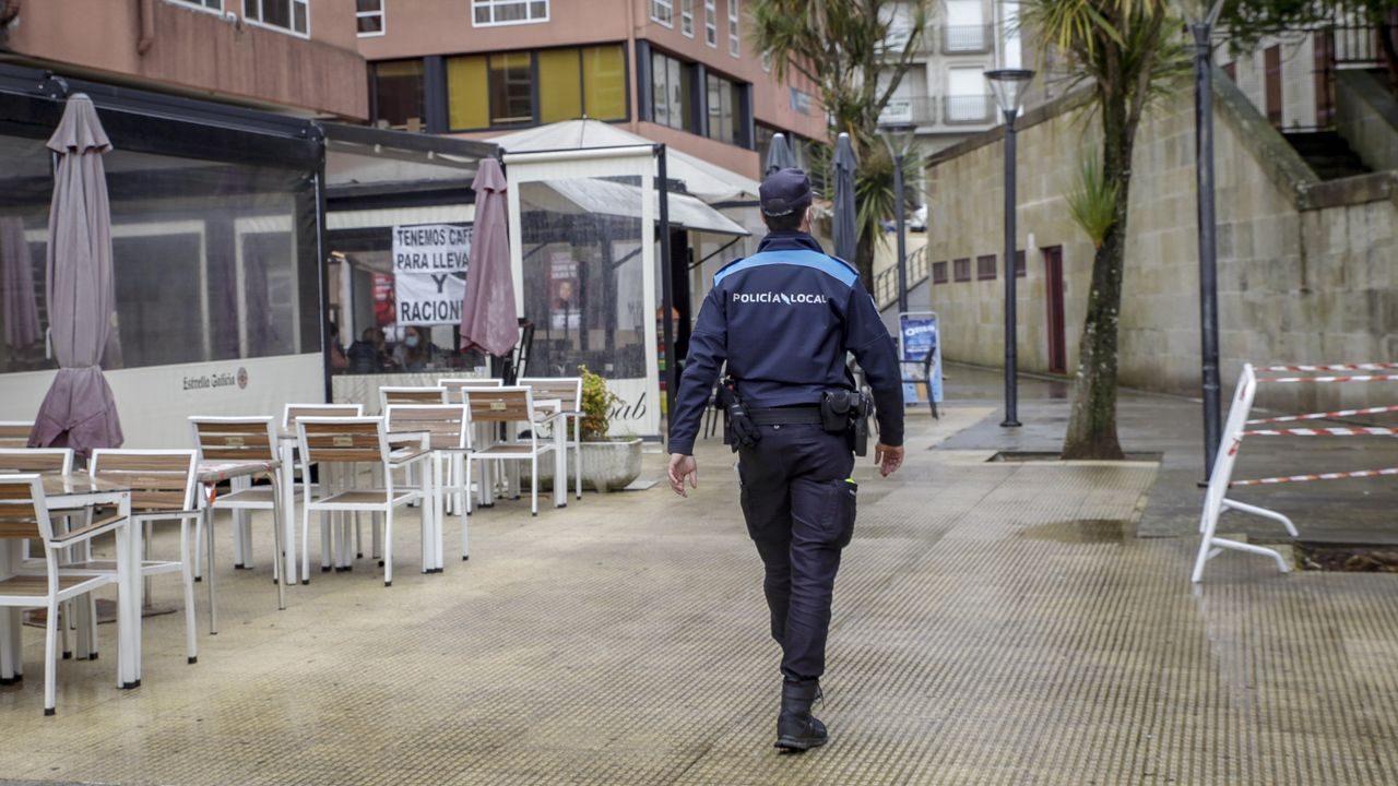 La Policía de Noia reforzó los turnos de vigilancia, pero no tuvo que interponer ninguna sanción