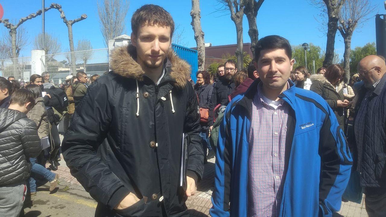 Dimas Castro y Gabriel García