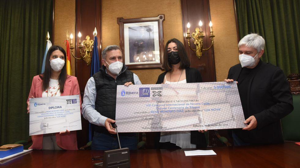 Chequeo al castro de A Cidade ribeirense.El juicio se celebrará en la sección sexta de la Audiencia Provincial, que está en el edificio principal de los juzgados de Santiago
