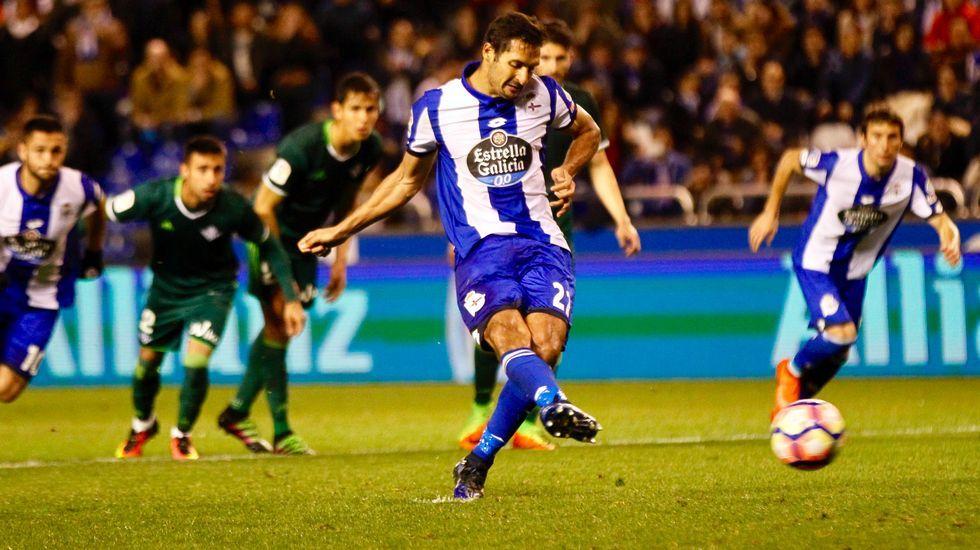 Las mejores fotos del Deportivo-Betis