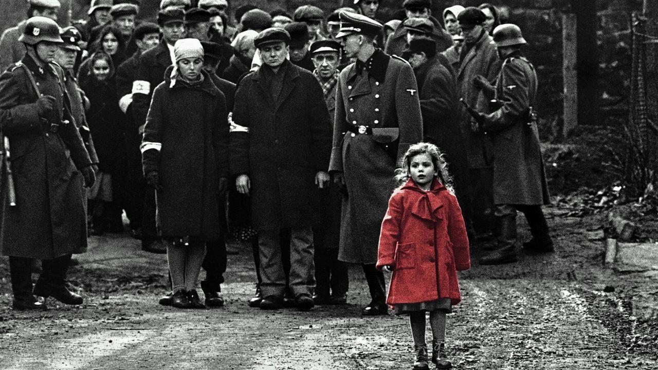 Escena del filme «La lista de Schindler»