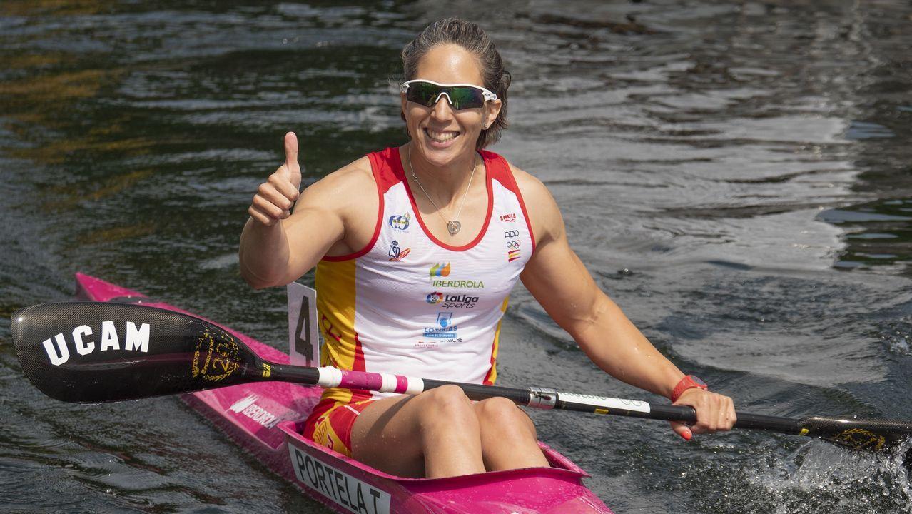 Portela ha disputado cinco finales olímpicas, ha ganado 14 medallas en Campeonatos Mundiales y 17 en Campeonatos Europeos