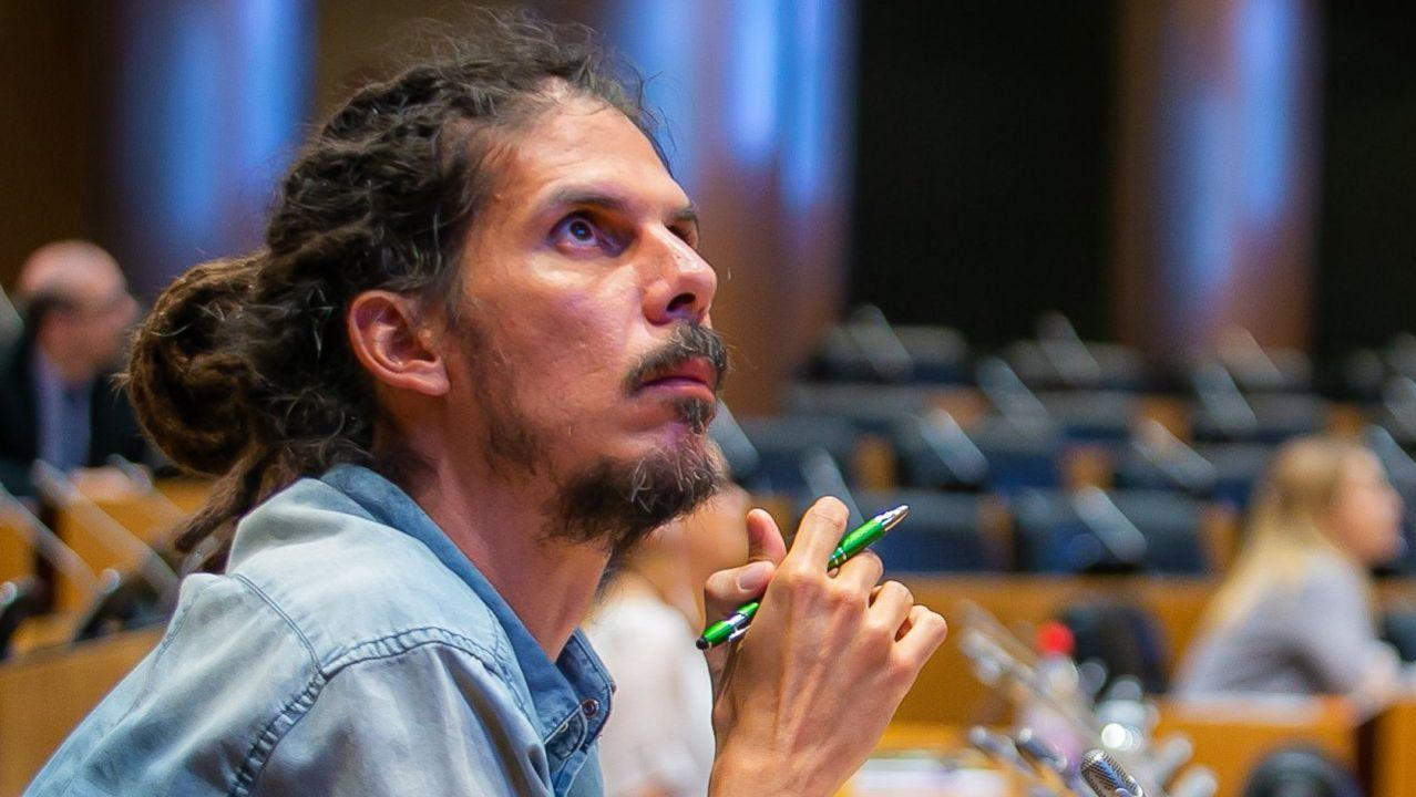 Alberto Rodríguez, diputado de Unidas Podemos