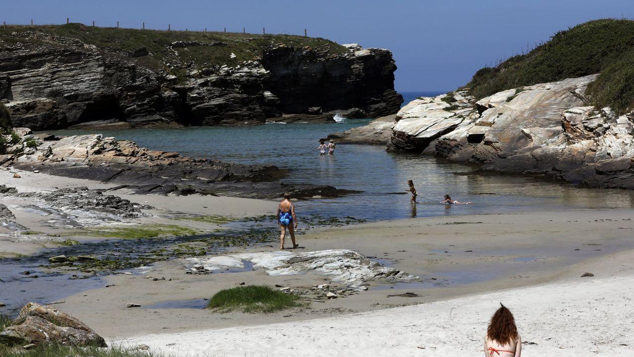Praia de Esteiro, en Ribadeo
