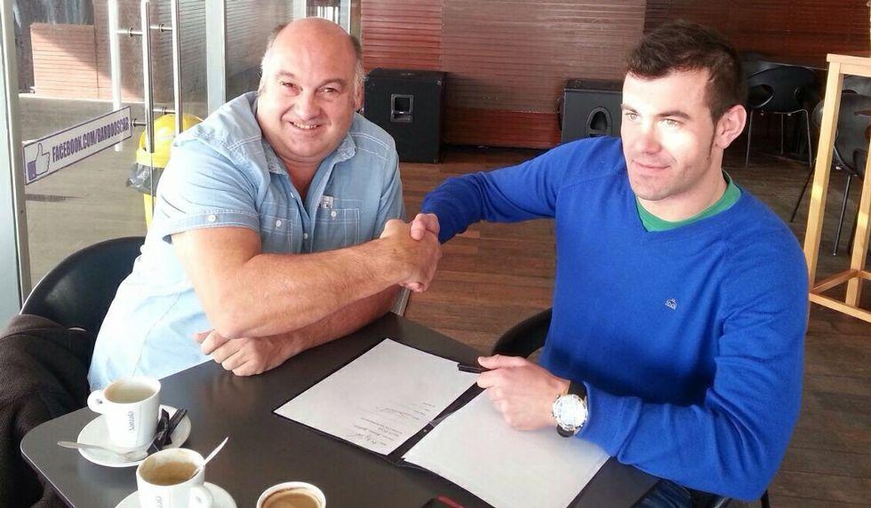 Nicky Hayden se debate entre la vida y la muerte.Momento de la firma de Dani por el equipo MQMotorsports.