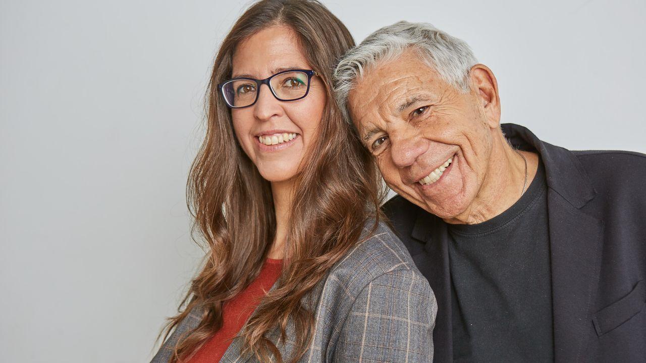 Carla Estivill y su padre Eduard
