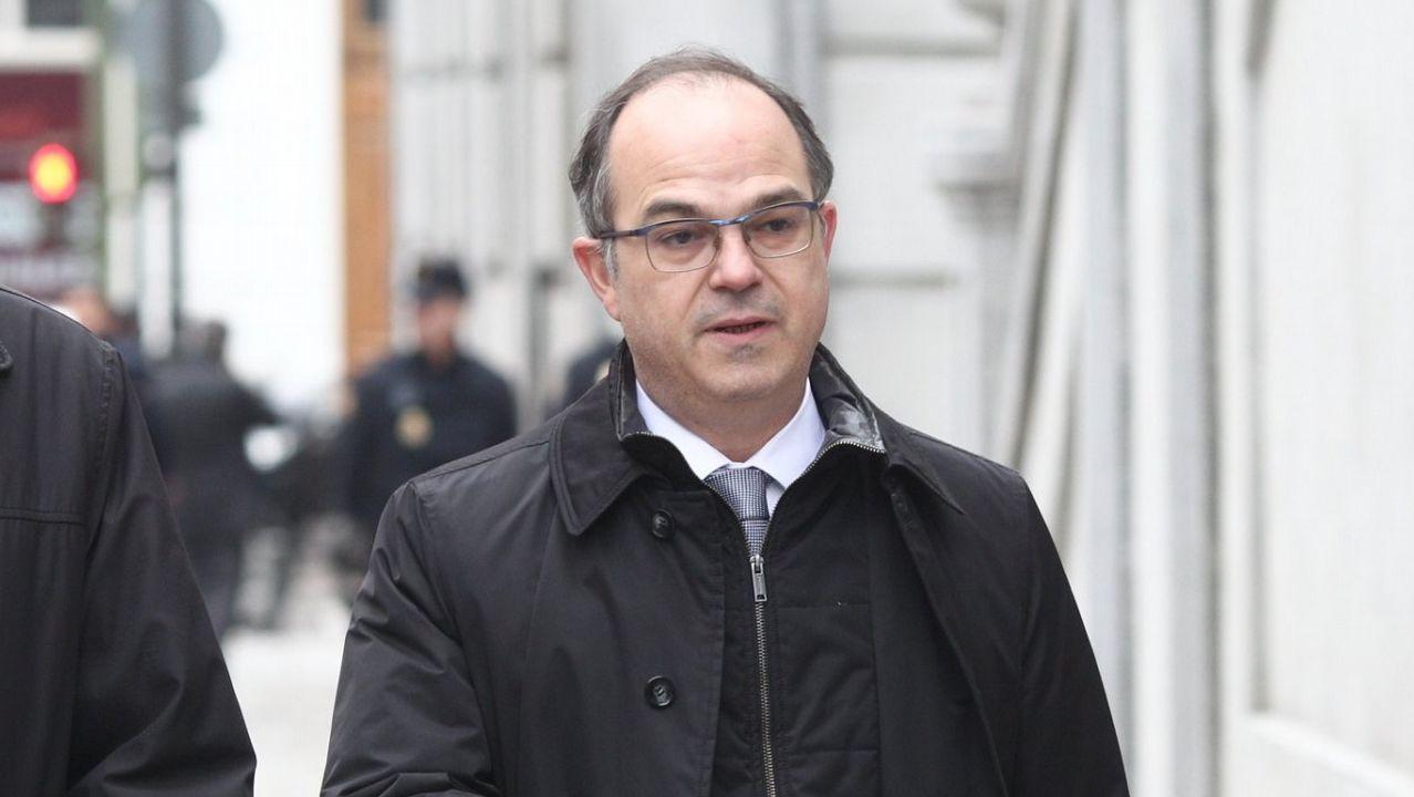 Jordi Turull. Exconsejero de Presidencia. Rebelión y malversación. En prisión
