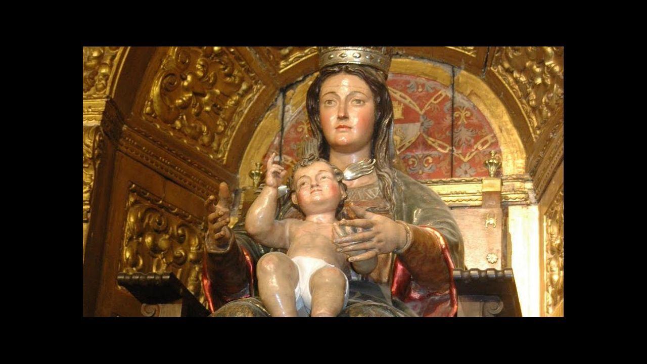 Mariñanos en FITUR.Nuestra Señora de la Victoria, ante la que encomendaron los expedicionarios que darían la primera vuelta al mundo