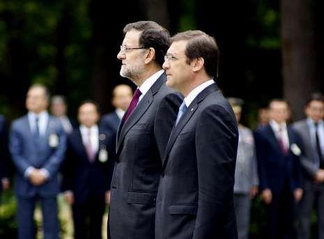 Rajoy y Passos Coelho presidieron la cumbre luso-hispana en Vidago (Chaves).