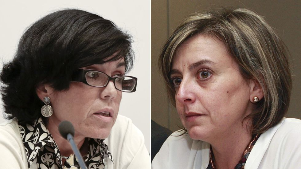 Ovidio Sánchez y Agustín Iglesias Caunedo..Mercedes Fernández en la FIDMA