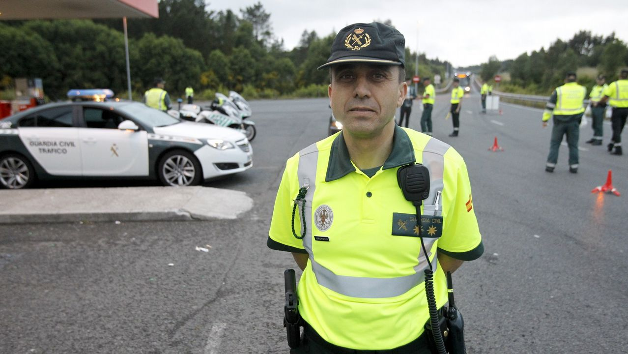 Molano es el jefe de la Agrupación de Tráfico de la Guardia Civil de Galicia