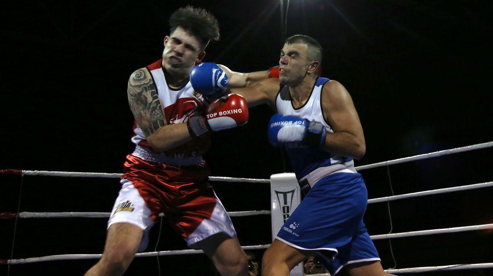 Así fue la Quinta Velada de Boxeo Cidade de Ribeira