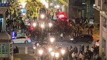 Las calles de Oviedo llenas de gente