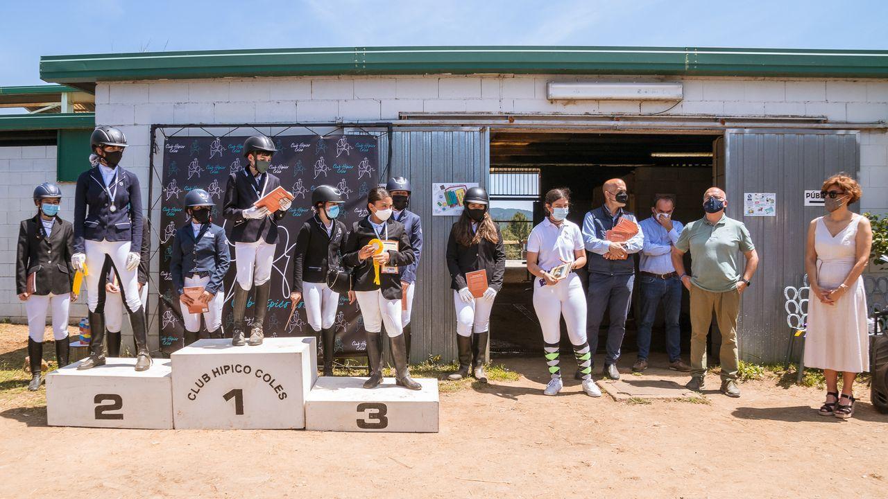 Estos fueron los participantes enel Concurso Territorial de Doma Clásica.Uno e los registros que se llevaron a cabo el miércoles en Monforte dentro de la operación Pensa