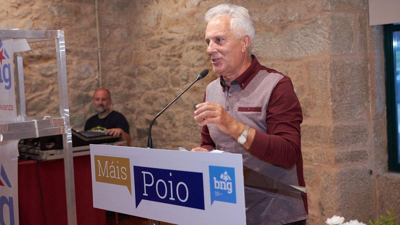 Acto de presentación de Luciano Sobral como candidato en las pasadas elecciones municipales