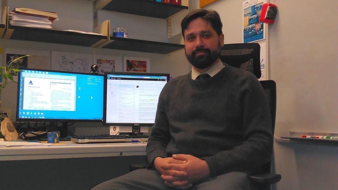 William Bracamonte-Baran, investigador de la Universidad Johns Hopkins.William Bracamonte-Baran, investigador de la Universidad Johns Hopkins