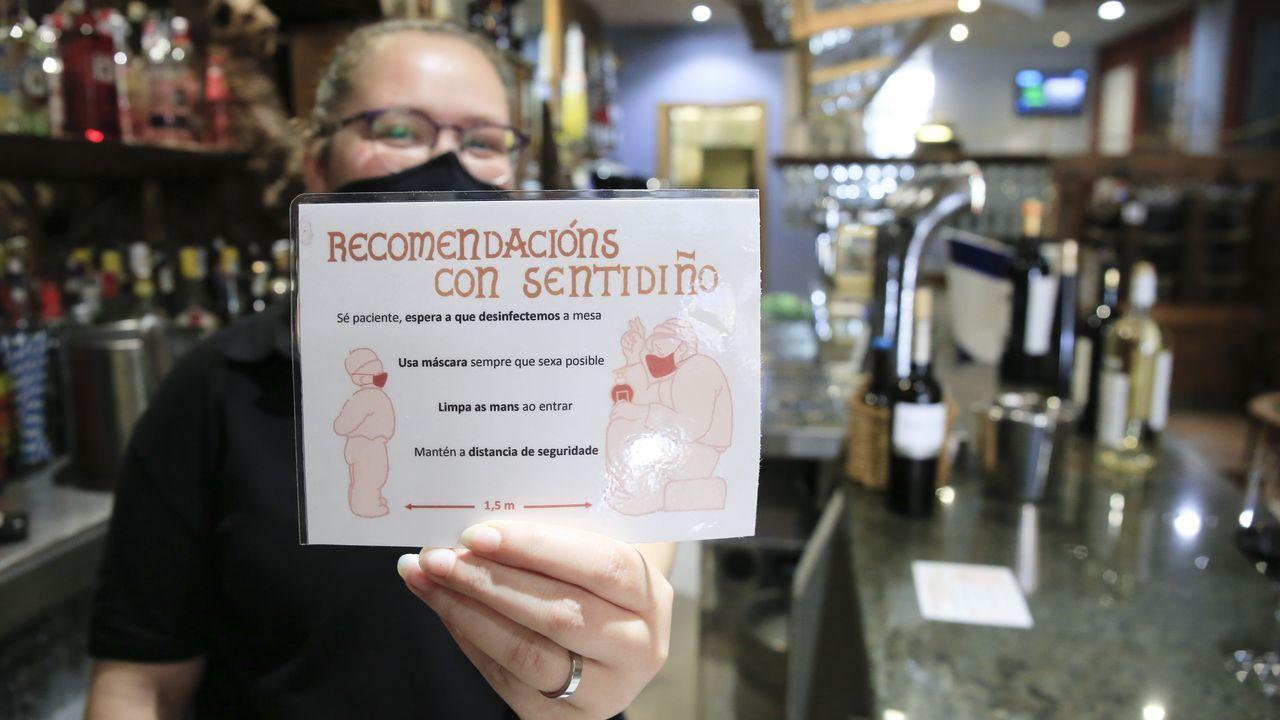 Establecimientos como el Lembranzas siguen a rajatabla las recomendaciones sanitarias