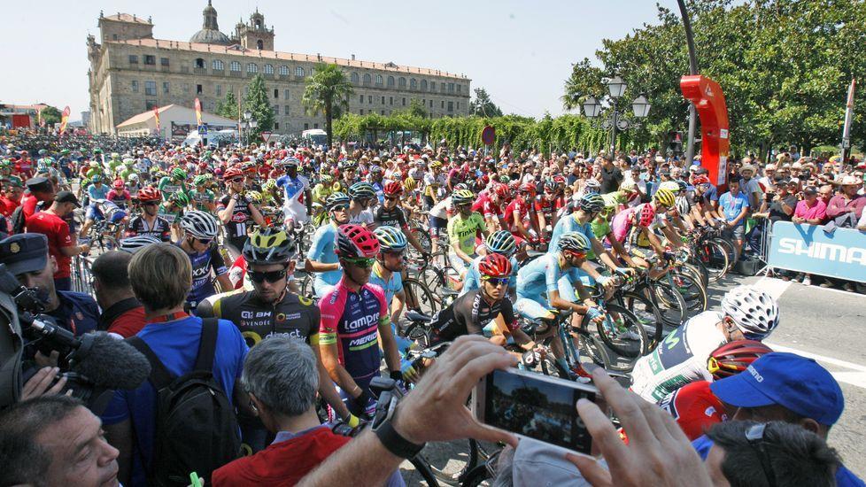 Una de las etapas de la Vuelta a España 2016 tuvo su salida en Monforte