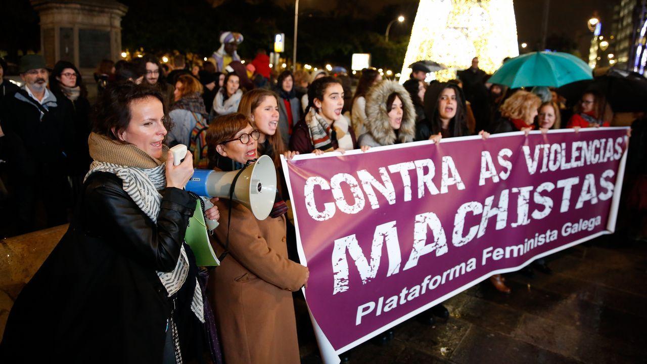 Crimen de adulto, ¿castigo de adulto?.Concentración en A Coruña contra la violencia machista