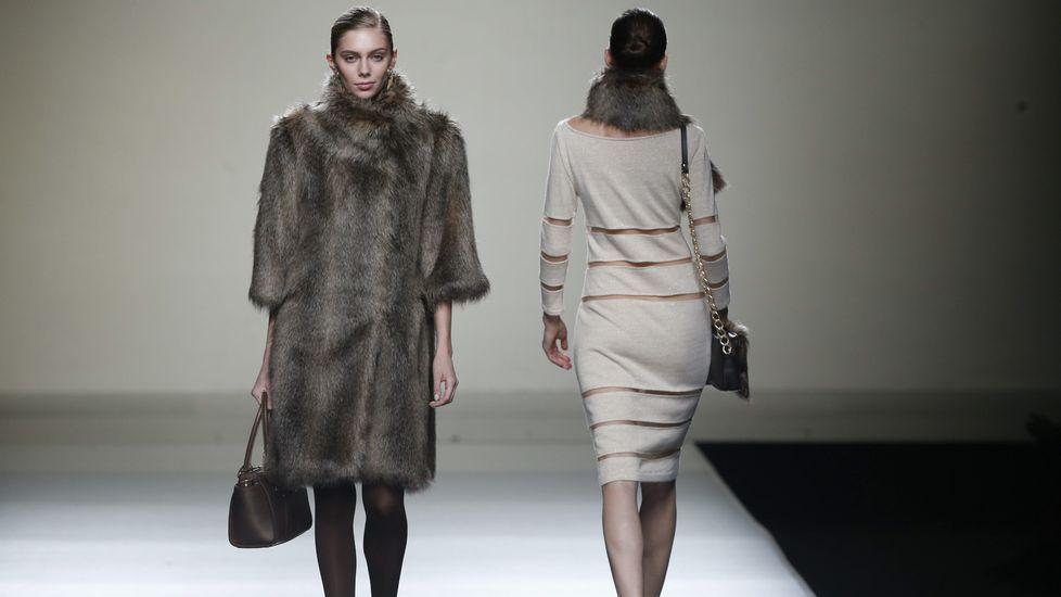 SEMANA DE LA MODA DE MADRID.Desfile de Esther Noriega en la Semana de la Moda de Madrid