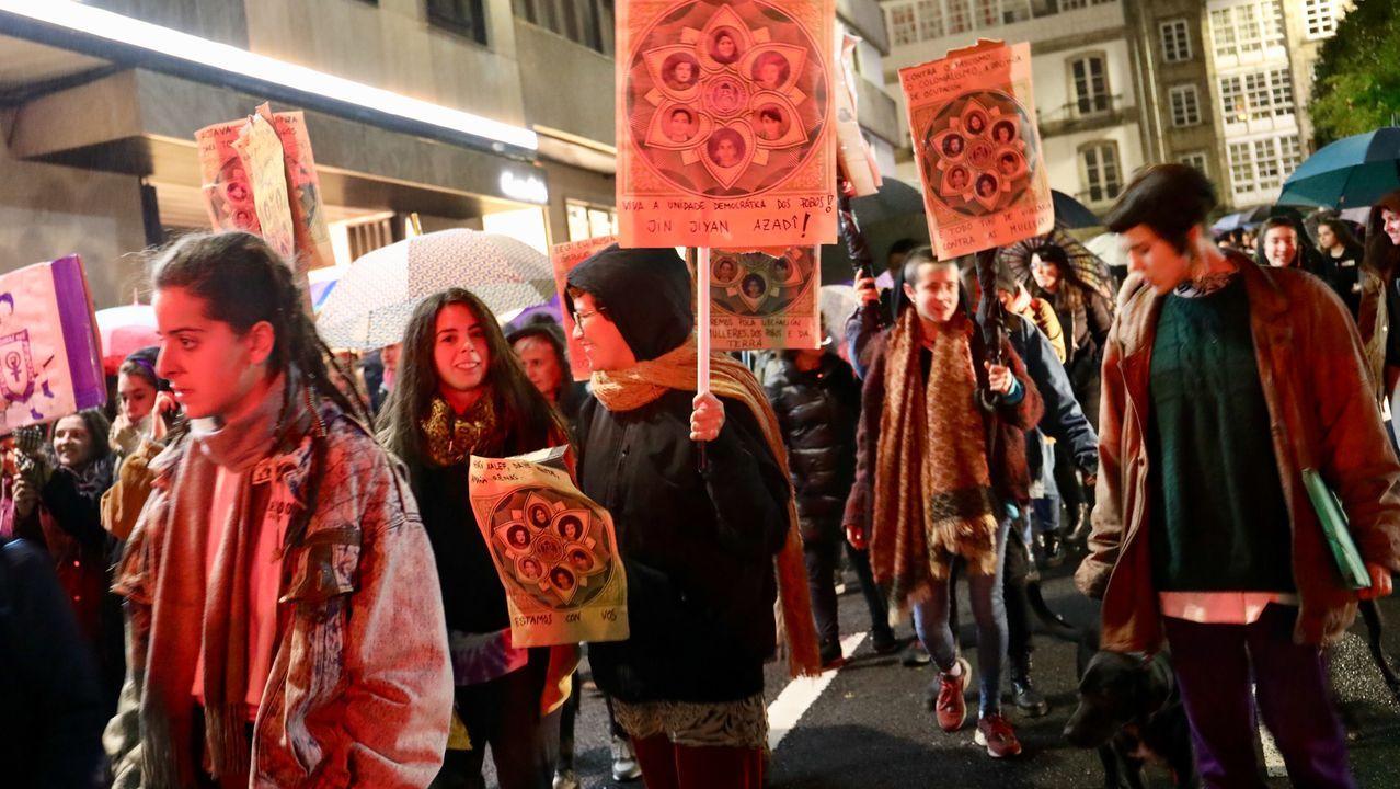 El 25N en Santiago: no rotundo contra la violencia machista