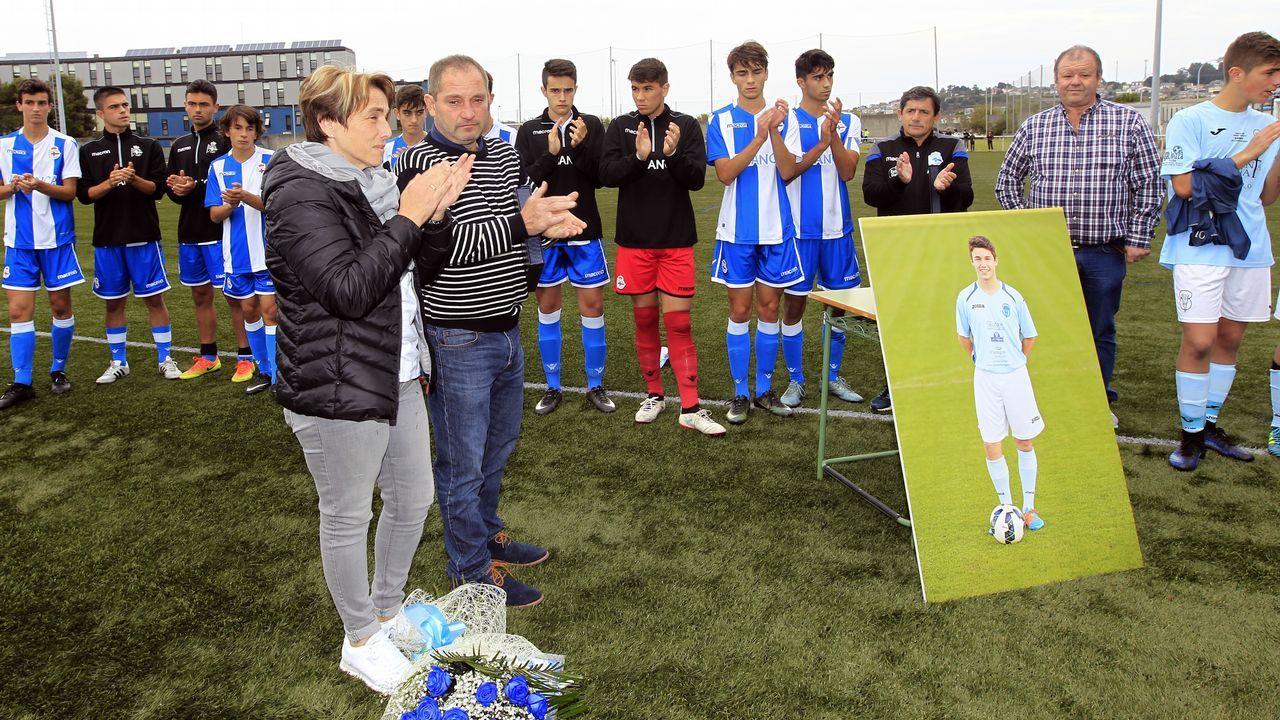 Emotivo homenaje a Marcos Gomez