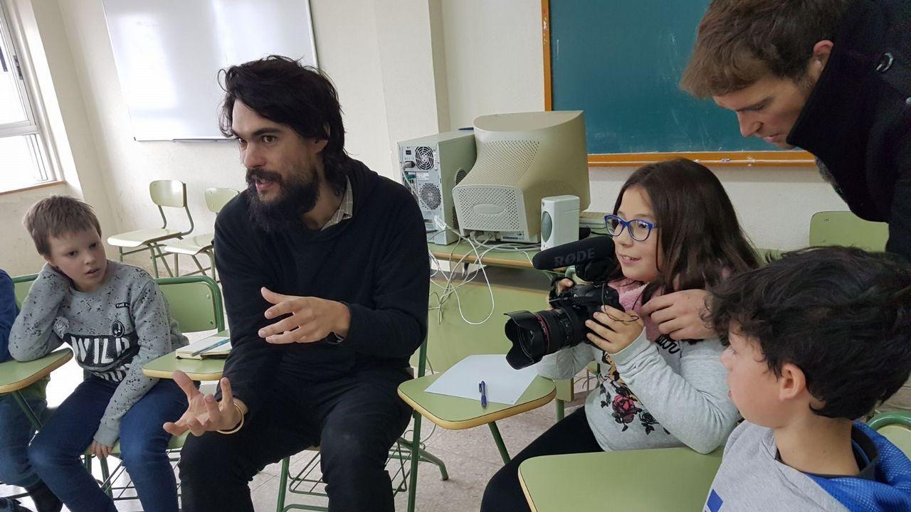 Galicia, a las puertas de la era de la robotización.Foto de archivo. Montse Ponte Taboada y Paula Martinez de Dina Hosting, una empresa del sector TIC